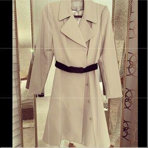 H & M belted dress coat